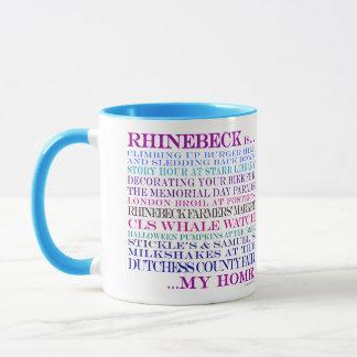 Rhinebeck is...my home mug