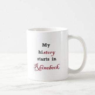 Rhinebeck is..where my story starts coffee mug
