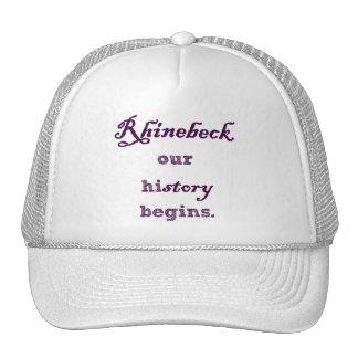 Rhinebeck, mi historia comienza aquí gorra