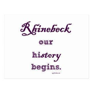Rhinebeck, my history starts here. postcards