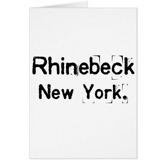 rhinebeck new york smudge card