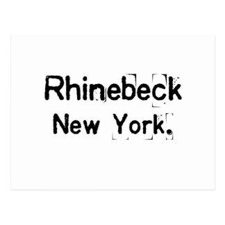 rhinebeck new york smudge postcard