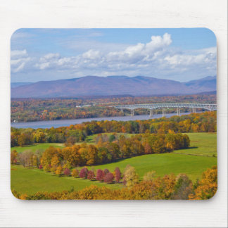 Rhinecliff Bridge in the fall mouse pad