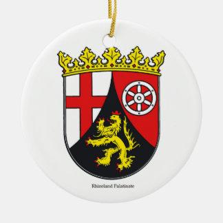Rhineland Palatinate Ceramic Ornament