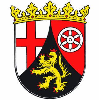 Rhineland-Palatinate coat of arms Cutout