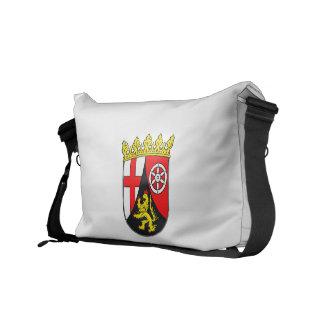 Rhineland-Palatinate coat of arms Messenger Bag
