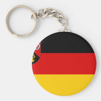 Rhineland Palatinate, Germany Basic Round Button Keychain