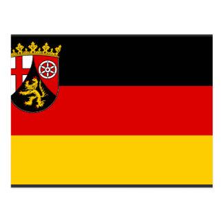 Rhineland Palatinate, Germany Postcard