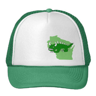 Rhinelander Hodag and Wisconsin Hat