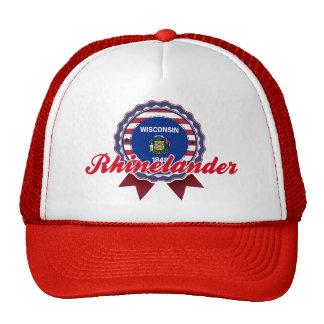 Rhinelander WI Trucker Hats