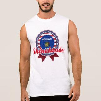 Rhinelander, WI Camisetas Sin Mangas