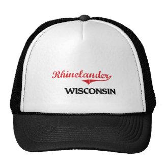 Rhinelander Wisconsin City Classic Trucker Hat