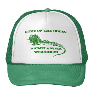Rhinelander Wisconsin Home of the Hodag Hat Cap