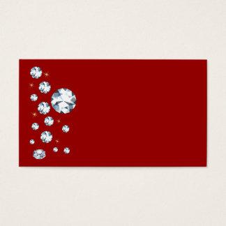 Rhinestone Business Cards