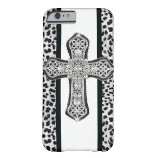 Rhinestone crusted Cross iPhone 6 case