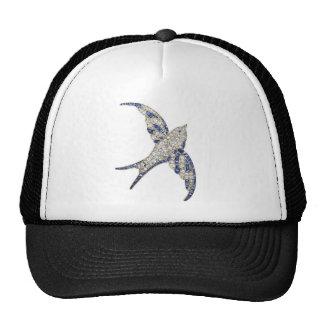 Rhinestone Diamonds Bird Vintage Costume Jewelry Hat
