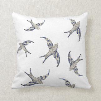 Rhinestone Diamonds Birds Vintage Costume Jewelry Pillows
