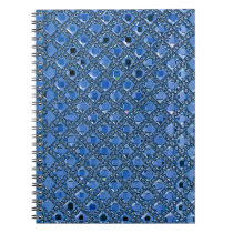 Rhinestone Glitter pattern Notebook
