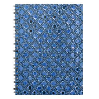 Rhinestone Glitter pattern Notebook