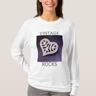 Rhinestone Heart Shirt