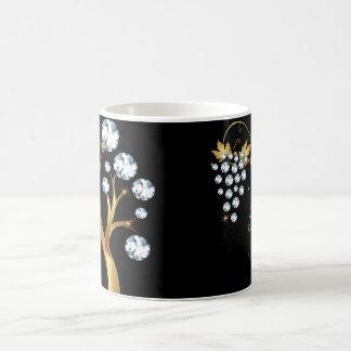 Rhinestone Jewels Diamond Coffee Mug