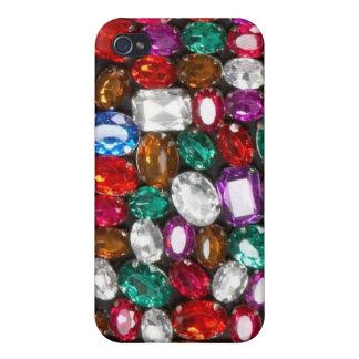 Rhinestone, jewels & Gem Bliss Set Iphone case