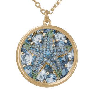 Rhinestone Starfish Costume Jewelry Charm