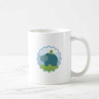 Rhino and Octopus! Coffee Mug