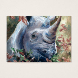 Rhino Art Card