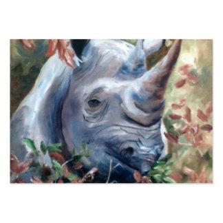 Rhino Art Card Business Card Templates