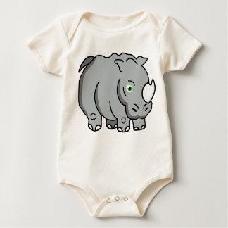 Rhino Baby Bodysuit