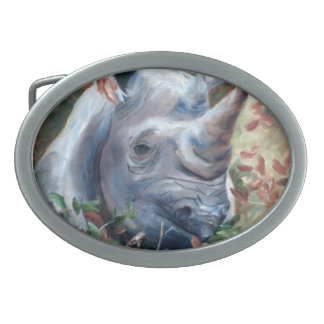 Rhino Belt Buckle