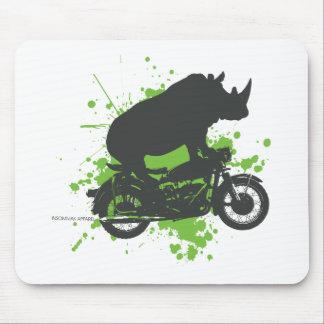 Rhino Biker Mouse Pad