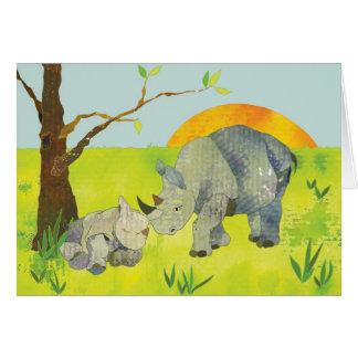 Rhino: Blank Card