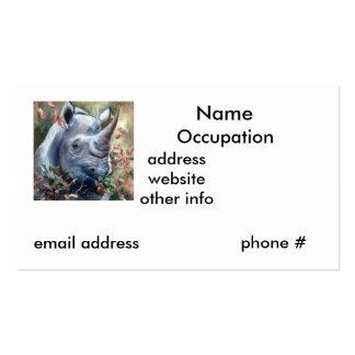 Rhino Business Card