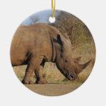 Rhino Christmas Ornaments