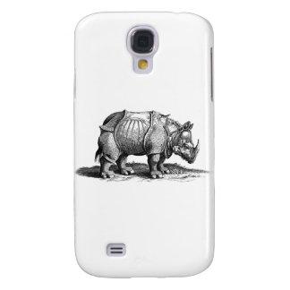 rhino-clip-art-1 funda para samsung galaxy s4