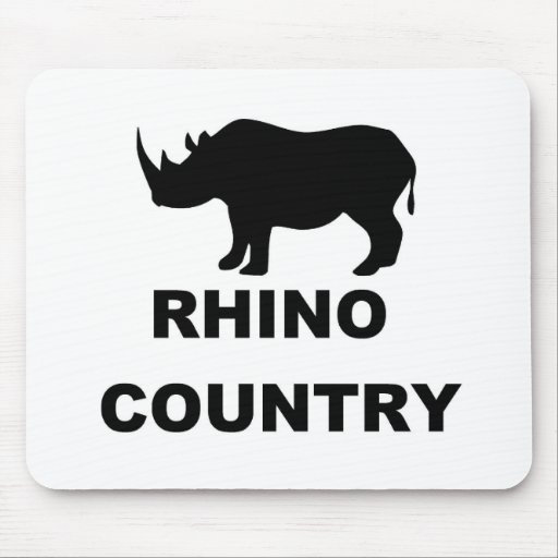 Rhino Country Mouse Pad