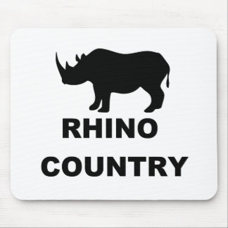 Rhino Country Mouse Pads
