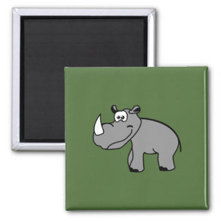 Rhino cute animal motifs fridge magnets
