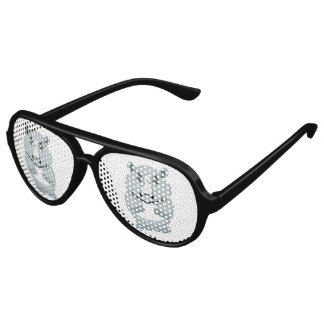 Rhino Design Aviator Sunglasses