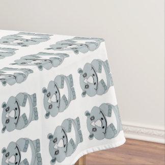 Rhino Design Tablecloth