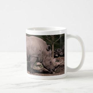 Rhino Double Head Coffee Mug