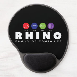 Rhino Family Mousepad Gel Mouse Pad