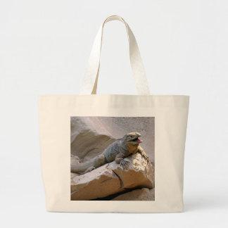 Rhino Iguana Large Tote Bag