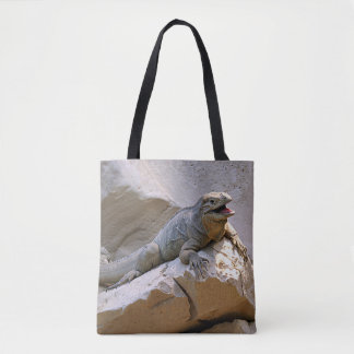 Rhino Iguana Tote Bag