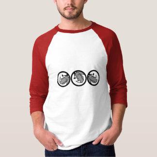 Rhino in a circle - cute animal motifs shirt