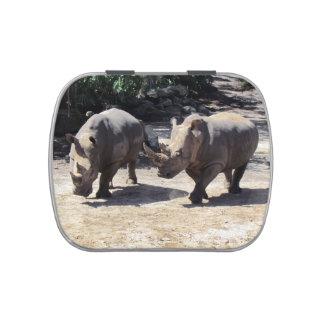 Rhino - Jelly Bean Tin Jelly Belly Candy Tin