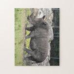 Rhino Jigsaw Puzzle