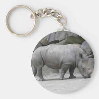 rhino keychain